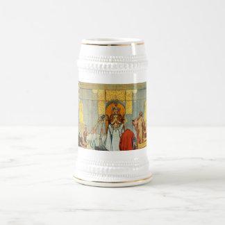 Caneca De Cerveja Mitologia de noruegueses - a mancha do pleno