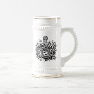 Caneca De Cerveja Mjolnir - Valknut