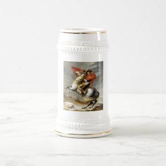 Caneca De Cerveja Napoleon que cruza os cumes por Jacques Louis