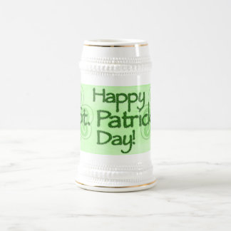 Caneca De Cerveja O dia feliz de Patrick de santo