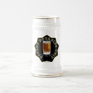 Caneca De Cerveja PPU (unidade poderoso) de Potables (preto)