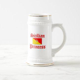 Caneca De Cerveja Princesa siciliano
