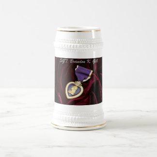 Caneca De Cerveja Purple Heart Stine, personalizado