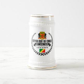 Caneca De Cerveja República de Congo