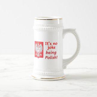 Caneca De Cerveja Sendo polonês
