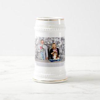 Caneca De Cerveja Spaniel de rei Charles descuidado - Becca - Hodges