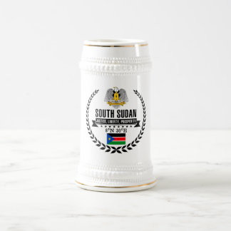 Caneca De Cerveja Sudão sul