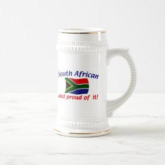 Caneca De Cerveja Sul orgulhoso - africano