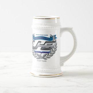 Caneca De Cerveja Troféu do hóquei da fantasia