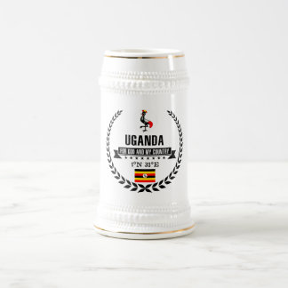 Caneca De Cerveja Uganda