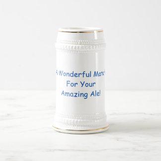 Caneca De Cerveja Um fósforo maravilhoso