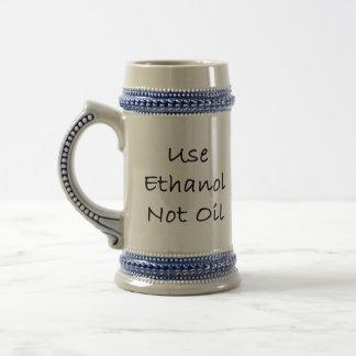 Caneca De Cerveja Use o óleo do álcool etílico não