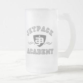 Caneca De Cerveja Vidro Jateado Academia de Jetpack