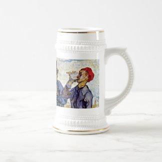Caneca De Cerveja Vincent van Gogh - bebedores - belas artes