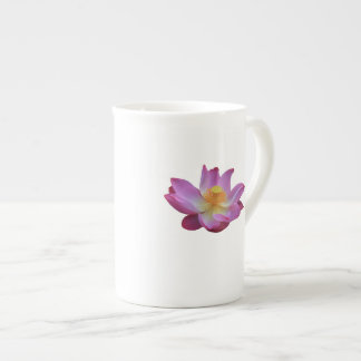 Caneca de China de osso da flor de Lotus