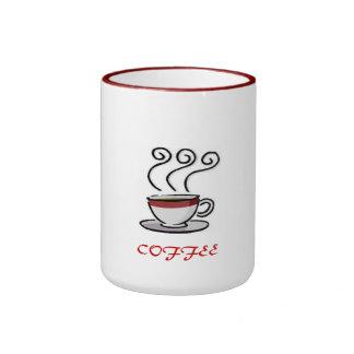 'Caneca de COFFEE@ Caneca Com Contorno