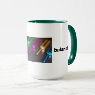 Caneca de equilíbrio da energia