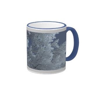 Caneca de Frost do inverno da árvore de prata