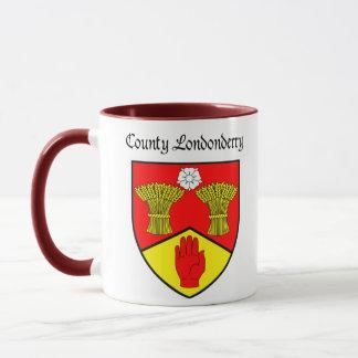 Caneca de Londonderry do condado