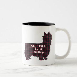 Caneca de Terrier de seda BFF