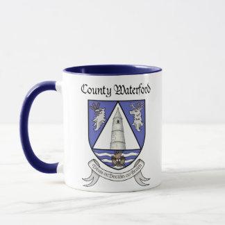 Caneca de Waterford do condado