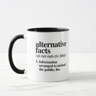 Caneca Definição alternativa dos fatos - a informação