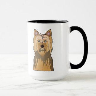 Caneca Desenhos animados de Terrier de seda