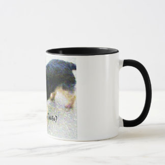 Caneca diminuta do yorkshire terrier