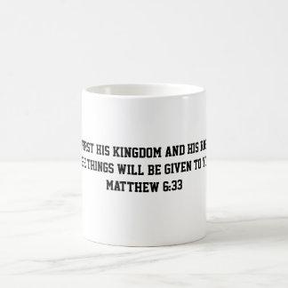Caneca do 6:33 de Matthew