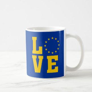 Caneca do AMOR da União Europeia