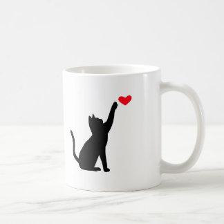 Caneca do amor do gato
