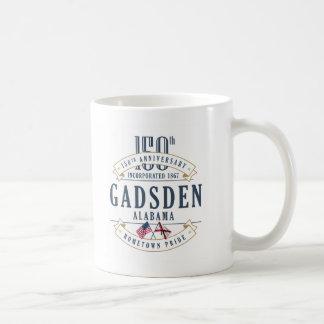 Caneca do aniversário de Gadsden, Alabama 150th