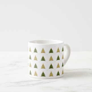 Caneca do café das árvores de Natal Caneca De Café