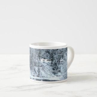 """Caneca do café - de """"dia inverno em Yellowstone """" Caneca De Café"""