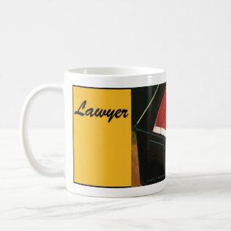 Caneca do chá do café do advogado do advogado