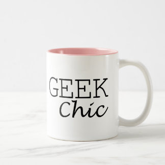 Caneca do chique do geek