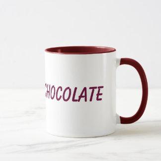 Caneca do chocolate quente