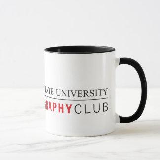 Caneca do clube da foto de ISU