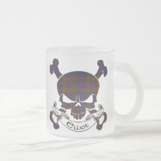 Caneca do crânio do Tartan de Elliot