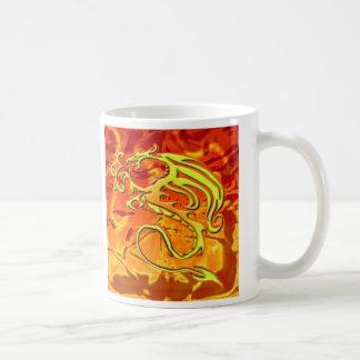 Caneca do dragão do fogo