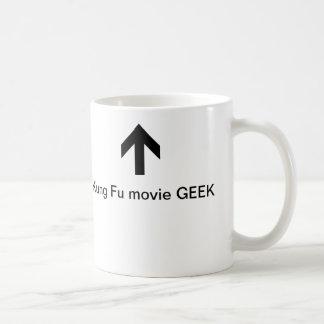 Caneca do geek do filme de Kung Fu