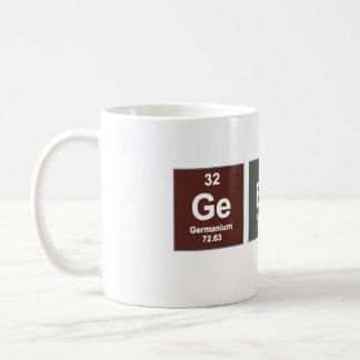 Caneca do geek - elementos químicos