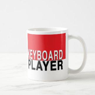 Caneca do jogador de teclado