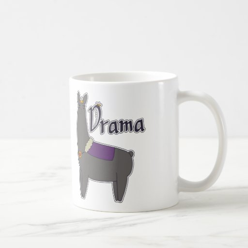 Caneca do lama do drama