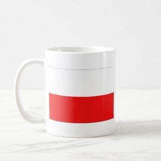Caneca do mapa do ~ da bandeira do Polônia