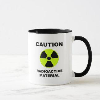caneca do material radioactivo