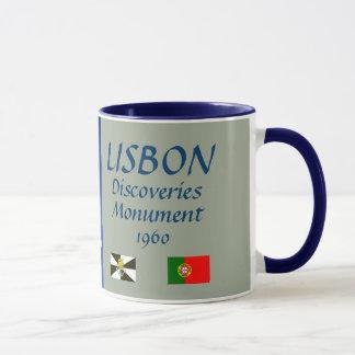 Caneca do monumento da descoberta de Lisboa
