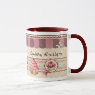 Caneca do Patisserie do boutique da padaria