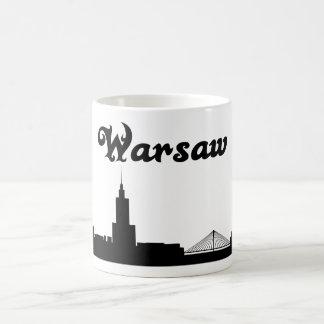 Caneca do presente do marco do Polônia de Varsóvia