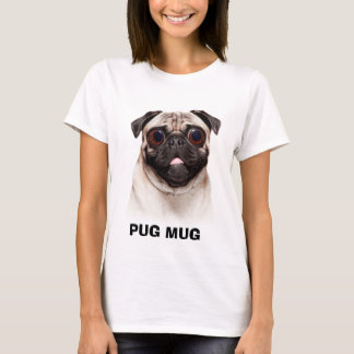 CANECA DO PUG T-SHIRTS
